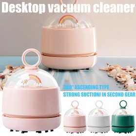 MEET SUN Vacuum Cleaner Mini Pembersih Debu Keyboard Laptop - DM-3 - Pink