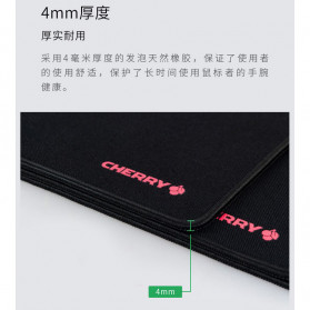 Xiaomi CHERRY Gaming Mouse Pad Desk Mat 290 x 225mm - Black - 6