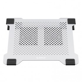 Orico Radiator Laptop Cooling Pad Aluminium with 2 Fan - NA15 - Silver