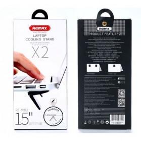 Remax Laptop Cooling Pad - RT-W02 - Black - 7