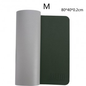 BUBM Office Mouse Pad Desk Mat Bahan Kulit 45 x 90cm - BGZD-L - Green