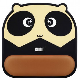 BUBM Cute Cartoon Mousepad with Silicone Gel Wrist Pad - GSM-B - Mix Color