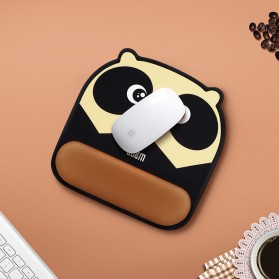BUBM Cute Cartoon Mousepad with Silicone Gel Wrist Pad - GSM-B - Mix Color - 5