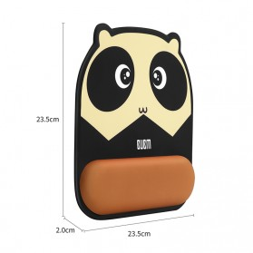 BUBM Cute Cartoon Mousepad with Silicone Gel Wrist Pad - GSM-B - Mix Color - 7