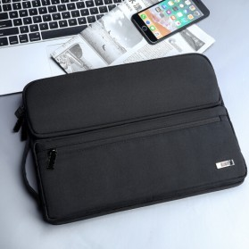 BUBM Sleeve Case Shockproof for Laptop 13.3 Inch - FXQN-13 - Black