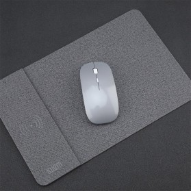 BUBM Smartpad Mousepad Cloth Material with Wireless Charging - WXCD-A - Dark Gray - 5