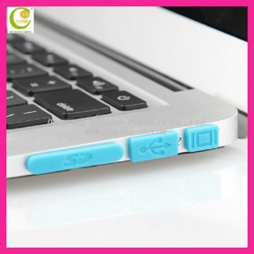 Silicone Notebook Dust Plug - Yellow