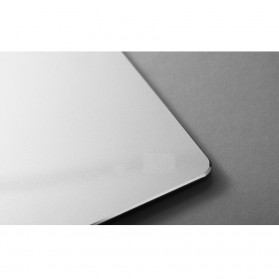 Metal Mouse Pad Rubber Feet (240 x 180 x 3mm) - 151210 - Silver - 7