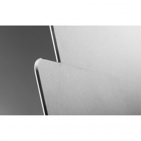 Metal Mouse Pad Rubber Feet (240 x 180 x 3mm) - 151210 - Silver - 8
