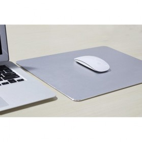 Metal Mouse Pad Rubber Feet (300 x 240 x 3mm) - 151211 - Silver - 4