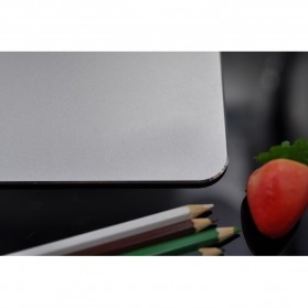 Metal Mouse Pad Rubber Feet (300 x 240 x 3mm) - 151211 - Silver - 10