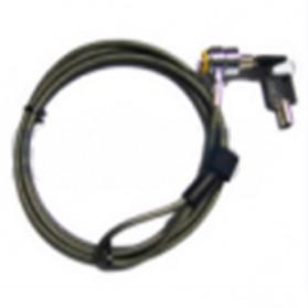 F & K Kunci Pengaman Laptop Key Security Lock - Silver - 4