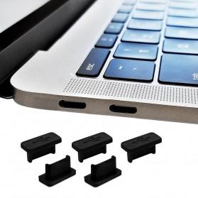 Dust Plug USB Type C 5 PCS - BU10 - Black - 3