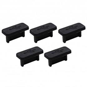 Dust Plug USB Type C 5 PCS - BU10 - Black - 4