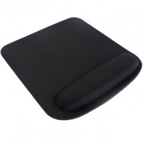 NeoStar Square Gel Wrist Rest Mouse Pad - MP24 - Black