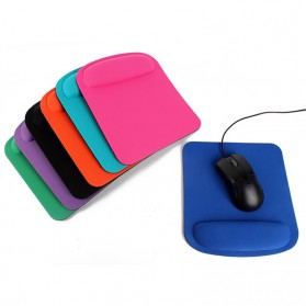 NeoStar Square Gel Wrist Rest Mouse Pad - MP24 - Black - 3