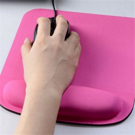 NeoStar Square Gel Wrist Rest Mouse Pad - MP24 - Black - 5