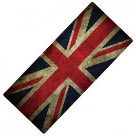 Professional Gaming Mouse Pad XL Desk Mat 30 x 80 cm Model UK Flag - MP004 - Blue/Red