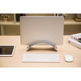 BookArc Stand Bracket Laptop - Silver