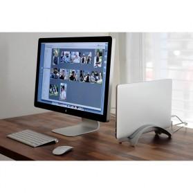BookArc Stand Bracket Laptop - Silver - 3