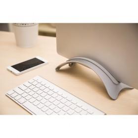 BookArc Stand Bracket Laptop - Silver - 4