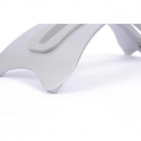 BookArc Stand Bracket Laptop - Silver - 5