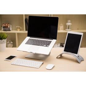 BookArc Stand Bracket Laptop - Silver - 7