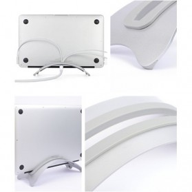 BookArc Stand Bracket Laptop - Silver - 8