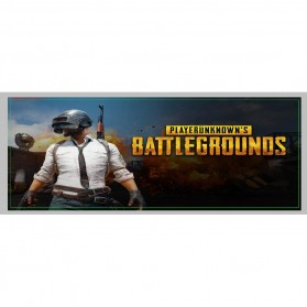 Gaming Mouse Pad Desk Mat Desain Game Online 400x900x2mm - PUBG 1