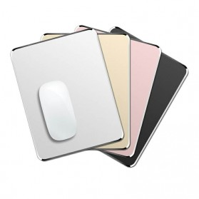 SKYLETTE Luxury Metal Mouse Pad (220 x 180 x 3mm) - SKY-053 - Silver - 4