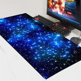 Gaming Mouse Pad XL Desk Mat Motif Starlight 400 x 900 mm - SH-SBD - Black