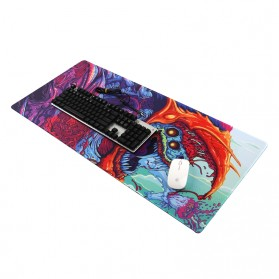 Gaming Mouse Pad XL Desk Mat 300 x 800 mm Model 4 - MP005 - Black - 5
