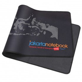 Jakartanotebook Gaming Mouse Pad XL Desk Mat 500 x 800 mm - Black