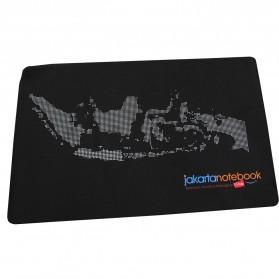 Jakartanotebook Gaming Mouse Pad XL Desk Mat 500 x 800 mm - Black - 2