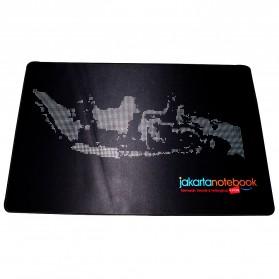 Jakartanotebook Gaming Mouse Pad XL Desk Mat 500 x 800 mm - Black - 4
