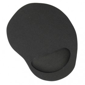 Gel Wrist Rest Mouse Pad - Black