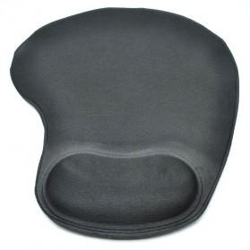 Gel Wrist Rest Mouse Pad - Black - 3