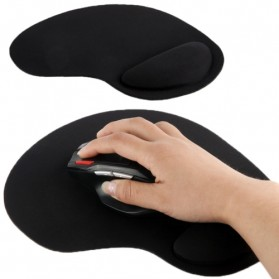 Mouse Pad - Brila Mouse Pad Ultra Slim Wrist Rest - 63911 - Black