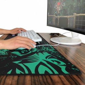 Rakoon Gaming Mouse Pad Desk Mat Control Surface 24 x 32 cm - LS - Black - 2