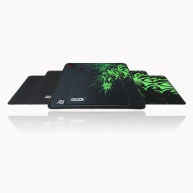 Rakoon Gaming Mouse Pad Desk Mat Control Surface 24 x 32 cm - LS - Black - 6