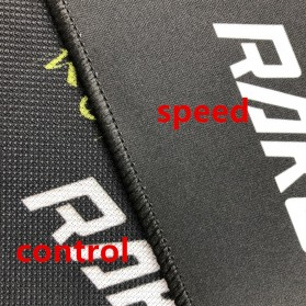 Rakoon Gaming Mouse Pad Desk Mat Control Surface 24 x 32 cm - LS - Black - 8