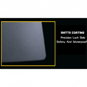 Xibter Gaming Mouse Pad Illuminated LED 300x240mm - Blue - 4