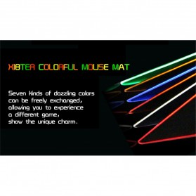 Xibter Gaming Mouse Pad Illuminated LED 300x240mm - Blue - 5