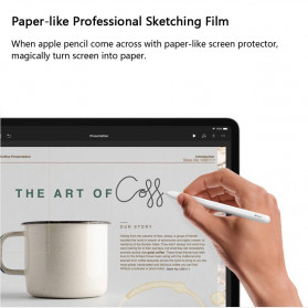 ZVRUA Screen Protector PET Anti Glare Film for iPad 2/3/4/5 9.7 inch - 4