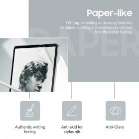 ZVRUA Screen Protector PET Anti Glare Film for iPad Pro 10.5 inch - 5