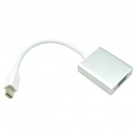 Orico Mini Display Port Male to VGA Female Adapter - DMP3V - Silver - 1