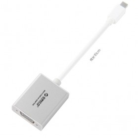 Orico Mini Display Port Male to VGA Female Adapter - DMP3V - Silver - 3