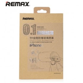 Remax Round Cut Magic Tempered Glass Screen Protector 0.1mm for iPhone 6/6s - 4