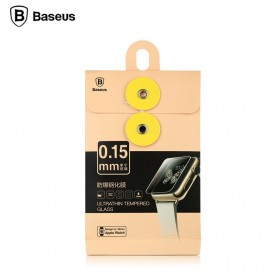 Baseus Ultra-Thin 0.15mm Tempered Glass for Apple Watch 42mm Series 1/2/3