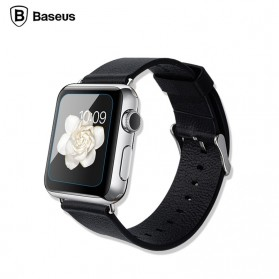 Baseus Ultra-Thin 0.15mm Tempered Glass for Apple Watch 42mm Series 1/2/3 - 4